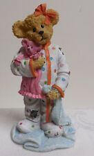 "NMIB~ Boyds Bears Resin 2013 ""CHLOE GOODFRIEND W/ CUDDLES"" #4037999  L.E RETIRED"