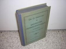 1900.médecine homéopathique d'urgence / Sieffert