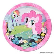 My Little Pony Party PLATES CAKE Supplies Decoration Birthday Pink Horse Girl x8