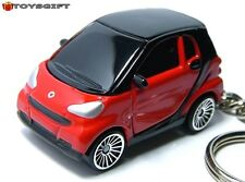 RARE KEY CHAIN RED BLACK SMART FORTWO PASSION COUPE NEW CUSTOM LIMITED EDITION R