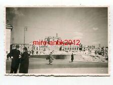 Foto, Wehrmacht, Ruinen, Pilsudski Platz, Warschau, Polen