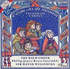 Willcocks,Willcocks,Bach Choir : O Come All Ye Faithful CD (1990)
