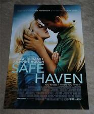 Nicholas Sparks SAFE HAVEN Movie Premier Promo Poster Josh Duhamel NEW