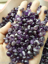 NEW 100% Natural Lot of Tiny Clear Amethyst Quartz Crystal Rock Chips 50g C001