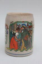 Bierkrug mit Abschiedsszene, Westerwald, um 1900 - Student