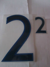 no 2 Big and Small England Home Football Shirt Name Set Numbers only Sporting ID