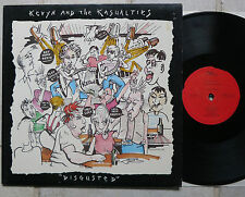 Kevyn And The Kasualties ‎– Disgusted  Vinyl  LP  OKra Records ‎– OK 33005