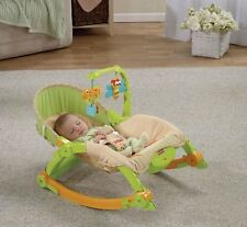 Fisher Price Newborn Toddler Bouncer Portable Baby Rocker Vibrating Swing Seat