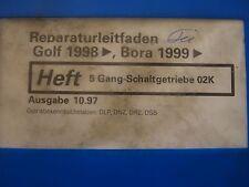 VW Golf Bora 1998-2000 Directrice de réparation 5 Boîte De Vitesses Manuelle 02K