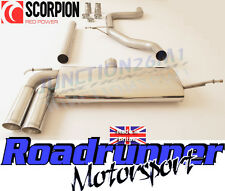 Scorpion Seat Leon 1.4 TSI Exhaust System Stainless Cat Back Non Res SSTS008 New