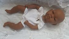 "REBORN BABY-DOLL KIT ETHNIC  ""PIPPA ""  WITH SEWN IN LIMBS  eyes & lashes inc ."