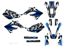 2005 2006 2007 KLX 250 KLX250 graphics sticker kit for KAWASAKI #2500 Blue