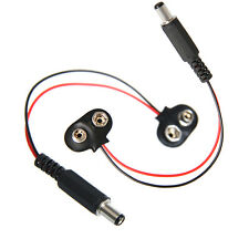 2pcs 9V battery adapter 9 Volt rechargeable battery for Arduino experiment Robot