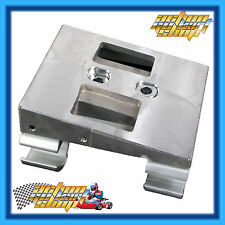 Go Kart SLIDE Engine MOUNT Complete Top + Bottom + Clamps + Free HOLE DRILLING