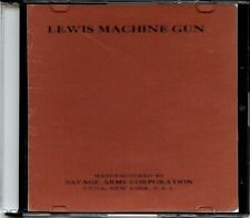 Lewis Machine Gun 1917 Model Manual, .30 Cal on CD