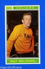 Figurina/Sticker CAMPIONI DELLO SPORT 1967/68-n. 259 - WOLFSHOHL -CICLISMO-Rec