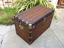 LOUIS VUITTON Antique Monogram Travel Wardrobe Steamer Trunk chest purse bag LV