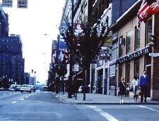 Slide 1960s Richards Street Downtown Vancouver Canada Bank Of Toronto
