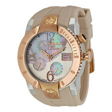 Mulco Ilusion Mother of Pearl Dial Beige Silicone Ladies Watch MW51877113