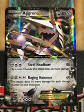 Pokemon Aggron EX 93/160 XY Primal Clash Ultra Rare Holo NM