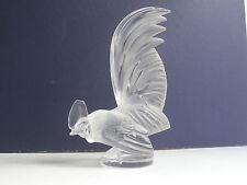 Early Post War Lalique Coq Nain. Car Mascot. Presse Papier.