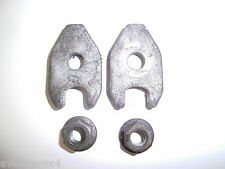 LAND ROVER DISCOVERY OR DEFENDER 300TDI INJECTOR CLAMPS PAIR WITH NUTS