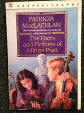 2 Patricia MacLachlan Books Sarah Plain and Tall Facts Fictions of Minna Pratt