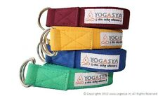 Yoga Belt / Strap - Yoga Props - For Safe, Perfect & Challenging Yoga Posture