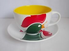 KELLOGG'S 2000 THE WAKE UP COLLECTION JUMBO BREAKFAST CUP AND SAUCER