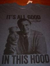 MISTER ROGERS NEIGHBORHOOD All Good in this Hood T-Shirt MEDIUM NEW w/ TAGS Mr.