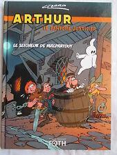 ARTHUR LE FANTOME JUSTICIER (CEZARD) LE SEIGNEUR DE MALPARTOUT EDITIONS TOTH