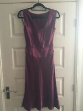 Gorgeous TED BAKER silk Party Prom Dress Size 1 (8)