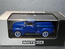 WhiteBox 1:43 CHEVROLET 3100 PICK UP 1950  Blue Coachwork