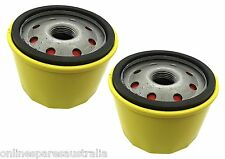 2 LONG LIFE Oil Filters replace Briggs and Stratton 492932 & fit Ride On Mower