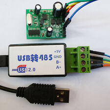 USB to Modbus 485 RTU Temperature Monitor Module DS18B20 RS485 PLC Network TVS