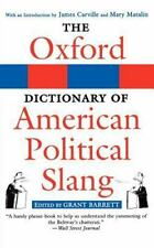 The Oxford Dictionary of American Political Slang-ExLibrary