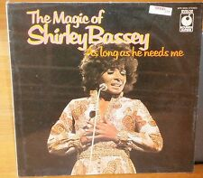 SHIRLEY BASSEY THE MAGIC OF SHIRLEY BASSEY AS LONG AS HE NEED ME SPR90024 1973