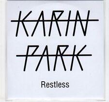 (EC365) Karin Park, Restless - DJ CD