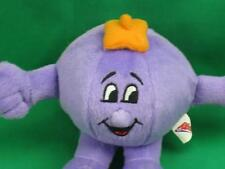 CHINESE NEW YEAR RIBENA PURPLE MASCOT MALAYSIA  SUCTION CUP PLUSH STUFFED ANIMAL