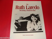 The Ruth Laredo Becoming a Musician Book by Ruth Laredo (1992, Paperback)