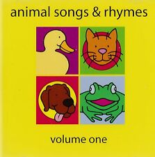 ANIMAL SONGS AND RHYMES. 32 CD TRACKS. NEW ITEM.