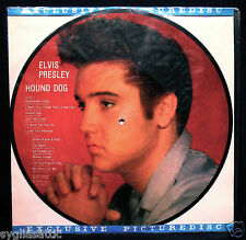 ELVIS PRESLEY-HOUND DOG-NEVER PLAYED PICTURE DISC-DANISH IMPORT-ROCKABILLY
