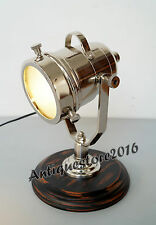 Vintage Classical Industrial Nautical Spotlight Table Lamp Christmas Decor Gift