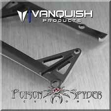 VANQUISH POISON SPYDER JK LED LIGHT BAR MOUNT BLACK VPS06780 AXIAL SCX10 TOY1:10