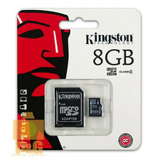 NEW BOX KINGSTON 8GB MICRO SD SDHC CLASS4 FLASH MEMORY CARD