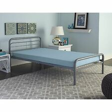 Twin Mattress Bunk Bed Kids Bedroom Youth Bed Free Shipping New Premium Blue