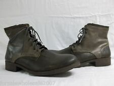 Steve Madden Size 13 M Antonn Brown Leather High Top Oxfords New Mens Shoes