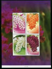 THAILAND STAMP 2010 ORCHID FLOWERS S/S