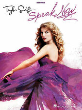 TAYLOR SWIFT SPEAK NOW EASY GUITAR TAB SONG BOOK NEW