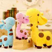 Plump Giraffe Family 3 Stuffed Animal Toys Wedding Shower Party Home Decoration